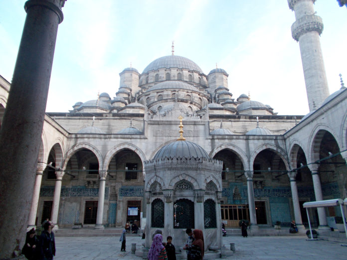 Old Mosque near Spice Market.