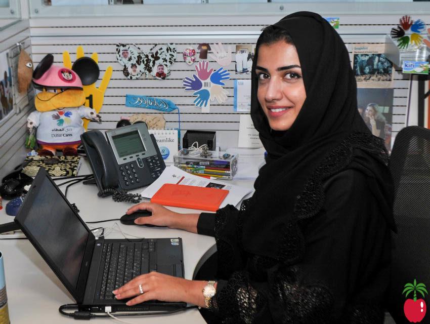 Ms Amal Al Redha, Fundraising Manager at Dubai Cares.