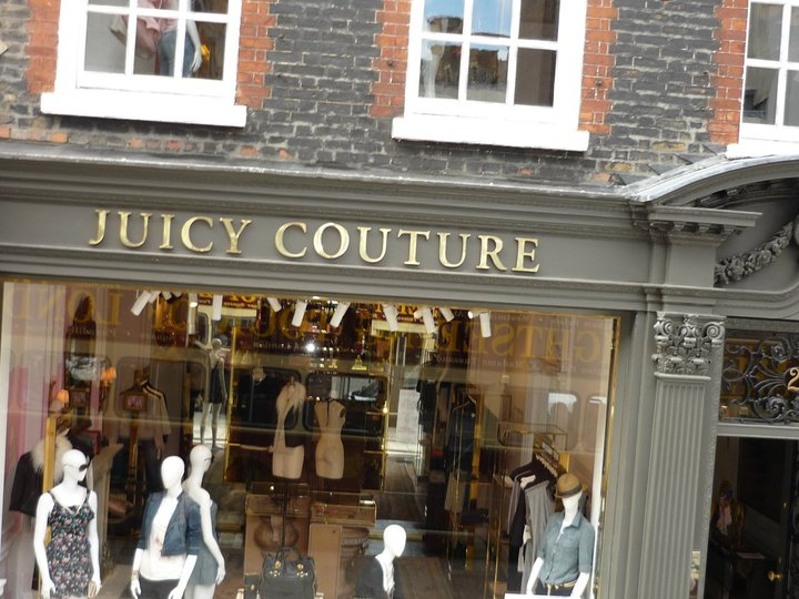 One of the high end stores on Bond Street.
