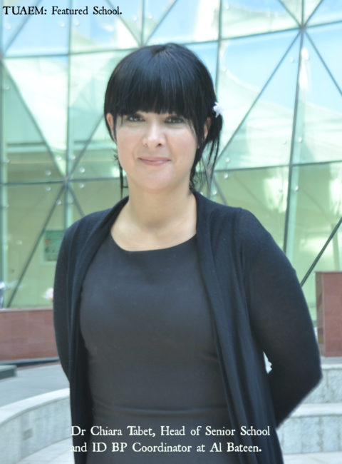 Dr Chiara Tabet - Al Bateen