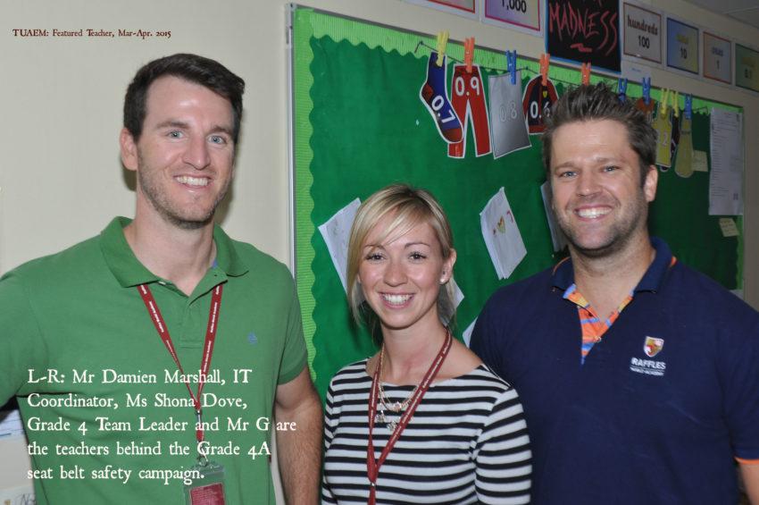 Grade 4A teachers