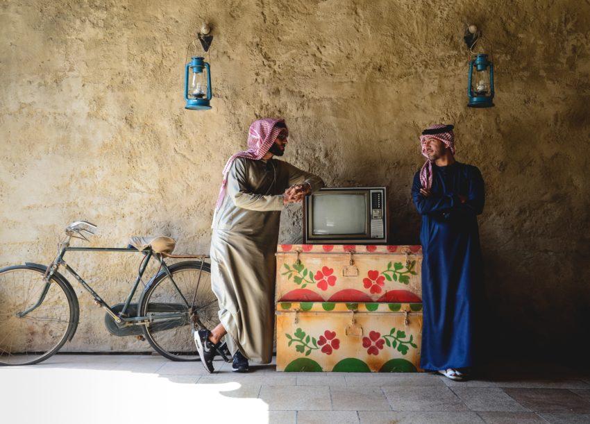 (L-R) Mohamed and Peyman Al Awadhi. Photo Credit: Peeta Planet