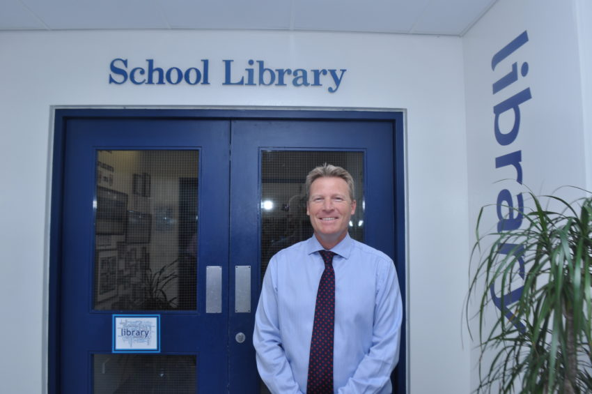 Mr Martin Wolley, Head of Lower School at Dubai College.