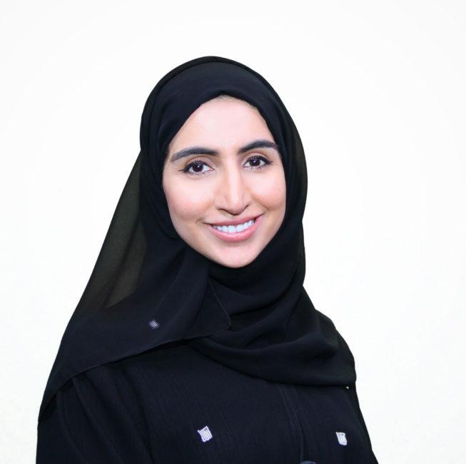 Ms. Atfa Alzarouni, Staff Happiness Manager at HBMSU.