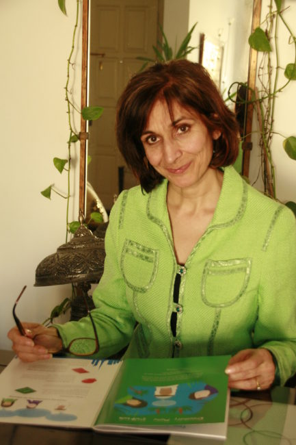 Mrs. Lubna Sarwar, educator and writer of Sandstruck in the UAE.