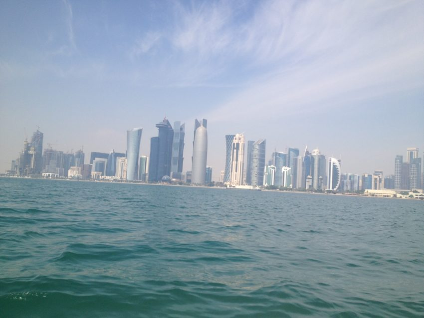 A photo of Qatar's landscape. Photo Credit: Richie Chin.